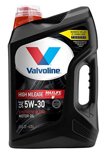 Valvoline High Mileage 150K with MaxLife Plus Technology Motor Oil SAE 5W-30 5 QT