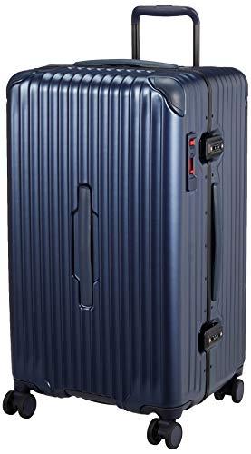 [カーゴ] スーツケース グッドサイズ スリムフレーム 多機能モデル CAT78SSR 保証付 78L 71 cm 5.7kg デニムブルー