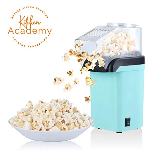 Why Should You Buy Kitchen Academy Electric Hot Air Popcorn Popper Maker with Measuring Cup, Oil-Fre...