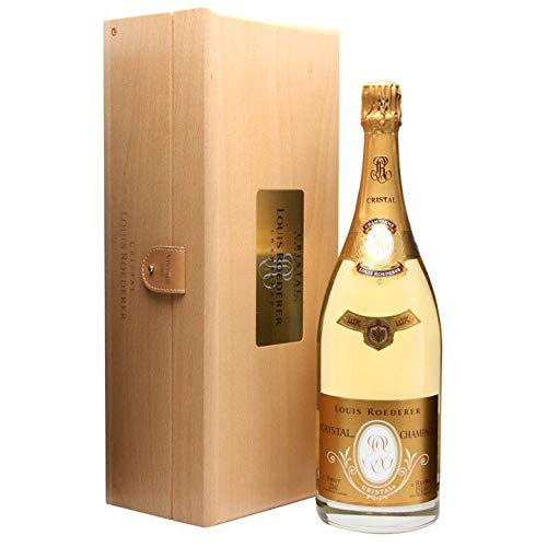 Louis Roederer Cristal Champagne Magnum 2006 1.5 litre, in Louis Roederer Cristal Wooden Box