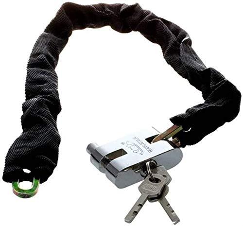First Choice 83cm Verstärkte Metall schweres Motorrad Motorrad Fahrrad Kettenschloss (Farbe: Black101cm) (Farbe: Black83cm) Xping plm46 (Color : Black101cm)