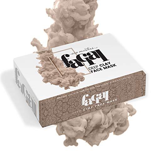 Kit Soin visage HYDRATANT à l'argile grise   100% NATUREL – Masque et crème hydratante pour le visage   Nettoie et nourrit la peau en Profondeur – Resserre les pores et élimines les impuretés