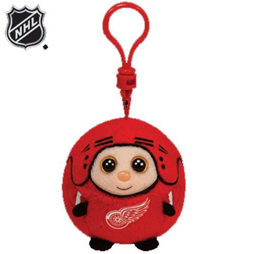 Ty NHL Beanie Ballz Detroit Red Wings - Clip