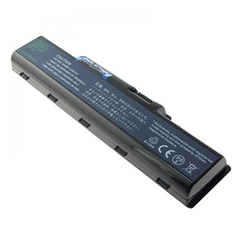 MTXtec Batería, LiIon, 10.8/11.1V, 4600mAh, Negro para Acer Aspire 4736ZG