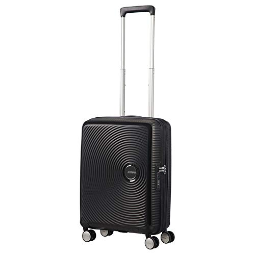 AMERICAN TOURISTER Soundbox - Spinner 77/28 Expandable Equipaje de mano, 77 cm, 97 liters, Negro (Bass Black)