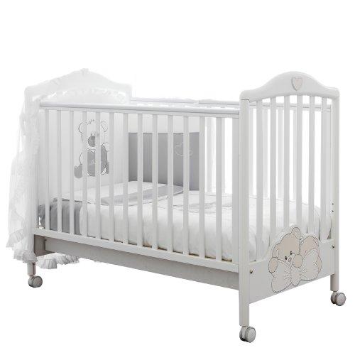 Pali 8033837348139Lettino Little Baby bianco 15800