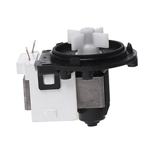 Lailongp BPX2-111/112 - Bomba de desagüe de agua para lavadoras electrónicas Washer