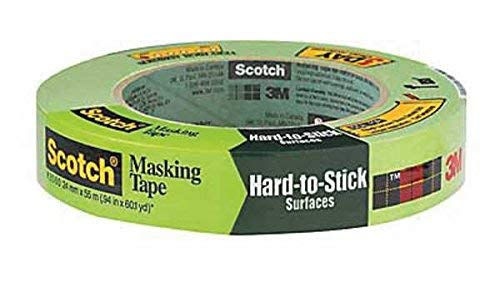 3M 2060-24A 1' Scotch® Painters' Masking Tape For Hard-To-Stick Surfaces