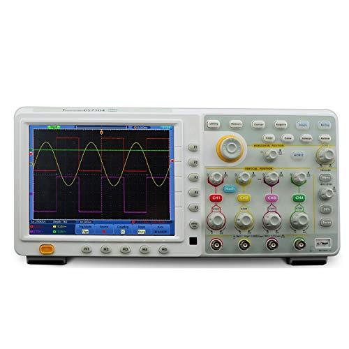 Osciloscopio digital Toque de pantalla del osciloscopio digital de 70 MHz de ancho de banda y frecuencia de muestreo de 8 pulgadas de alta definición LCD de 4 canales del osciloscopio TDS7074 1GS /