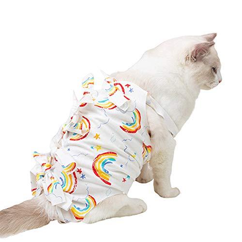GuangLiu op Body für Hunde Katzenbody Hundebaby wächst nach der Operation Dog Recovery Suits Medizinisches Haustierhemd klein Katzenmäntel für Haustiere c,S