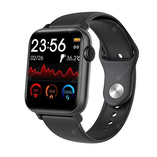 Smartwatch Original QS19 Tela Touch 44mm Iphone ou Android Notificações Esporte Batimentos Pressão Termômetro + Original com Nota Fiscal + Envio em 24 horas