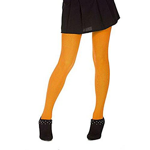 Party Pro- Collant, Unisex-Adult, 87270066, Orange, Taille Unique