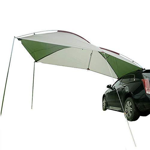 Car Awning, Car Side Tent, Outdoor Travel, Camping, Portable Side Awning, Sun Protection And Rain Shed,Glass rod