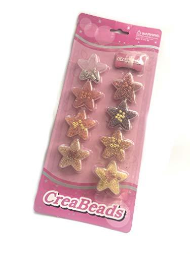 mysale24.de Kinder Bastel Schmuck Set Perlen und Verschlüsse Schmuckset Ketten Armbänder Basteln