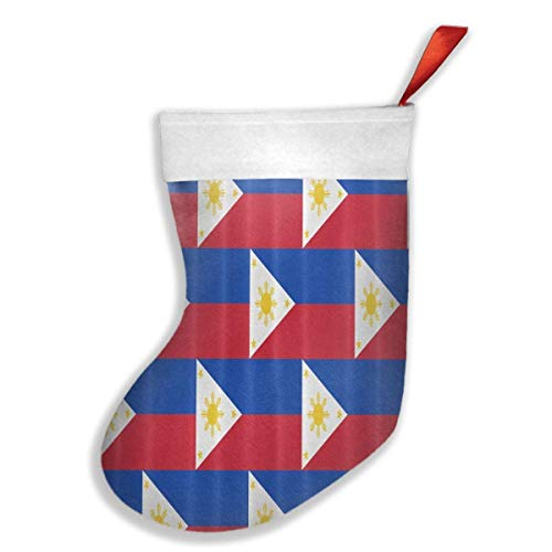 Jasongsady Liner Philippines Flag Xmas Christmas Stockings Xmas Party tafelkleed decoratie kinderen geschenk Holding Tree ornament