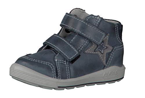 RICOSTA Fille Bottes & Boots LUC 2421700, Lassie Bottes Classiques,Bottes à Velcro,See,25 EU / 7.5 UK