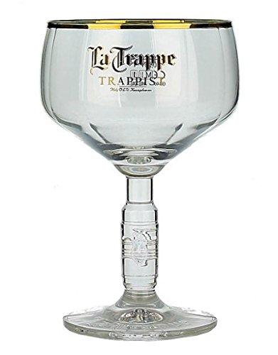 LaTrappe Trappist Belgica Cerveza Glass Vaso de Cerveza 25cl