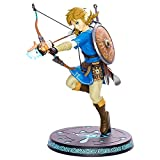 ZELDA Legend Breath of The Wild Link with Bow PVC Painted Statue, Multicolor (First 4 Figures 607353b)