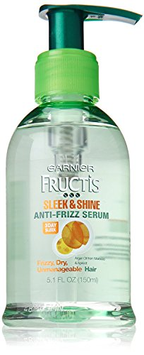 Garnier Hair Care Fructis Sleek & Shine Anti-frizz Serum, 5.1 Fluid Ounce Pack of 2