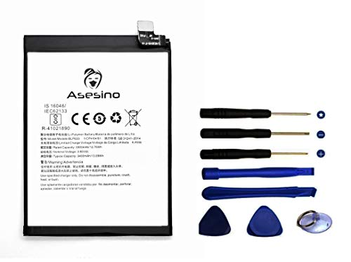 Asesino Batería Compatible con OnePlus Three 3 (3000mAh) con Kit de Herramientas de Repuesto BLP613 R-4102189 A3000