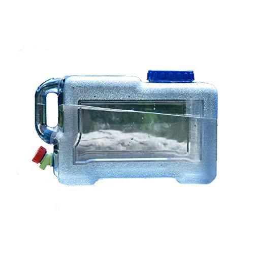 YXYXX PC Portátil Tanque De Agua, Bidón con Grifo, para Camping, Senderismo, Picnic, Barbacoa, Viajes al Aire Libre/azul / 12l