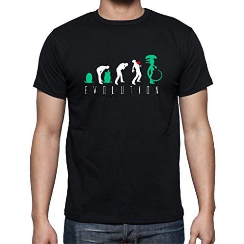 Camiseta de Hombre Alien Ripley Covenant Pelicula Evolution Nostromo 003 L
