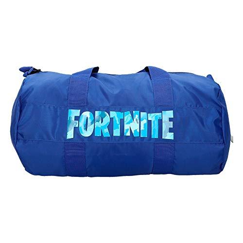 Fortnite - Saco deporte, Azul, 54x27 cm (77084)