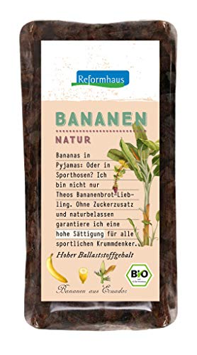 Reformhaus Bananen im Päckchen Bio, 250 g