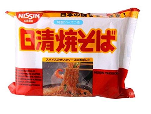 Nissin Yakisoba Instant Noodle Dry 100g (5 packs)