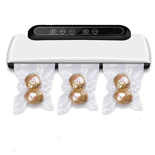 LSLY Verbesserte Version des Vakuumierer Vakuumiergeräts, Automatisches/Manuelles Vakuum-Luftdichtungssystem Mit Trocken- Und Nassmodus Für Lebensmittelgeschäfte, LED-Anzeige