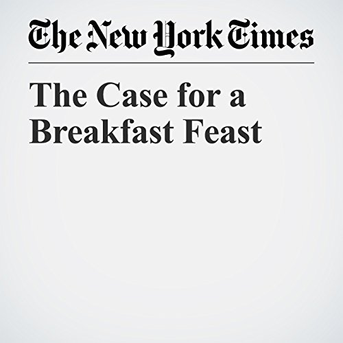 The Case for a Breakfast Feast copertina
