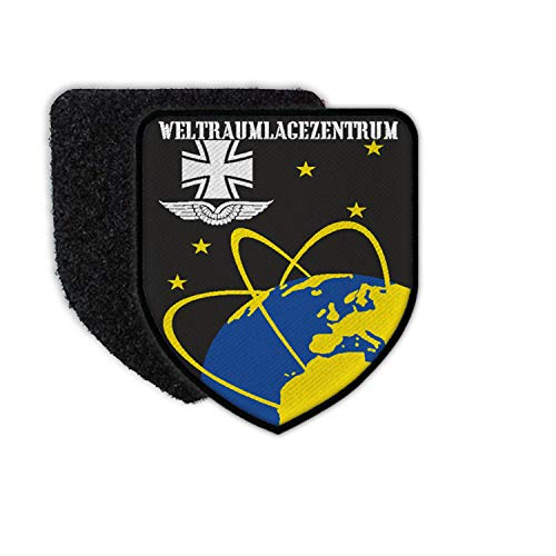 Copytec Patch 75 x 65 Weltraumlagezentrum B&eswehr Kalkar Wappen Luftwaffe #34793