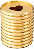 me & my BIG ideas Metal Expander Discs, Gold - The Happy Planner Scrapbooking Supplies - Add Extra Pages, Notes & Artwork - Create More Space for Notebooks, Planners & Journals - Expander Size