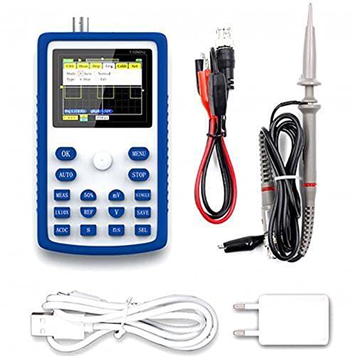Probe Power 1C15 + Osciloscopio digital profesional 50 0MS / S 110M Ancho de banda analógico Herramienta de prueba de diagnóstico Medidor de voltio digital AC/DC (Color : Blue)