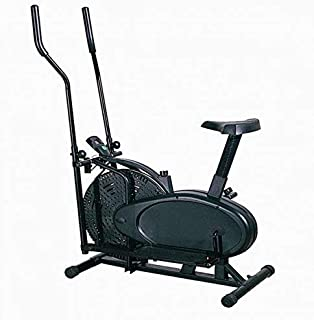 Skyland Basic 2 in 1 Orbitrac Elliptical Bike - Black EM-1501