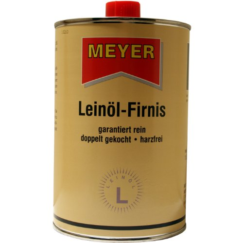 Meyer Leinöl-Firnis - 1 Liter