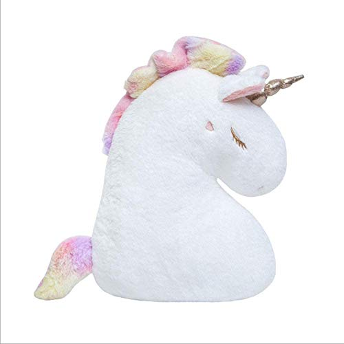 Diseño de forma de unicornio Color de arco iris de color lindo juguetes de peluche unicornio Unicornio Peluche de peluche Juguetes de caballo Bebé Acompañar a los juguetes para niños para niños Estudi