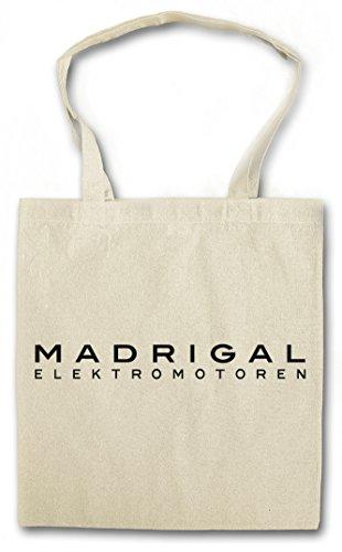 Urban Backwoods White Madrigal Elektromotoren Hipster Bag Beutel Stofftasche Einkaufstasche