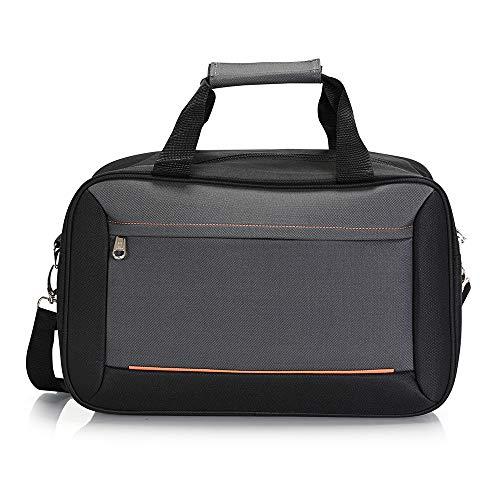 BONTOUR 40x20x25cm Handgepäck Reisegepäck für Ryanair Kabinentasche (Dunkelgrau)