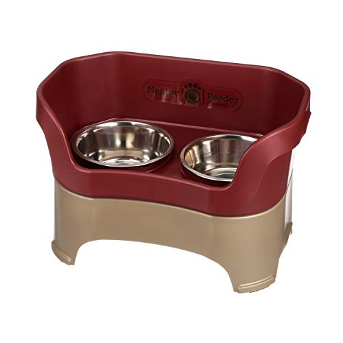 Neater Feeder Deluxe Large Dog (Cranberry) Now $29.99 (Was $59.99)