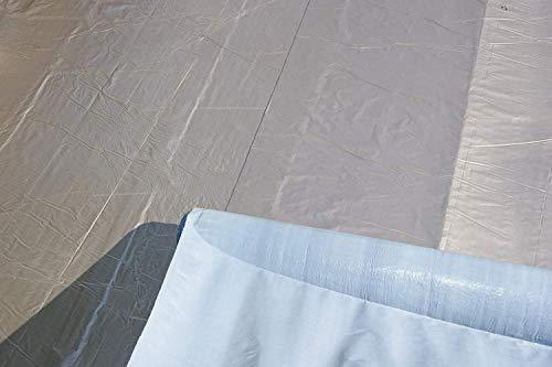 Premium Dachfolie KSK Aluminium selbstklebend grau 5 m² für Flachdachhäuser Gartenhäuser Metalldachbahn