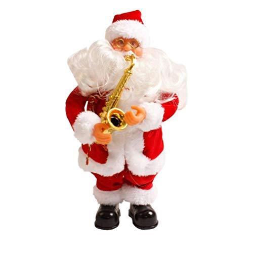 AAGOOD-WeihnachtsE-Weihnachtsmann-Spielzeug Geschenke Home Decor-Partei-Dekoration Stehen Puppe