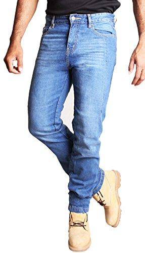 HB Pantaloni Moto Kevlar Jeans. 320 GSM DuPontTM KEVLAR ® Aramid fodera. Protettori Gratis. 100% qualità.38/30