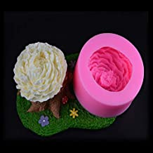 Cake Molds - Bloom Chrysanthemum Flower Silicone Mold Candy Chocolate Cake Baking Tools Kitchen Accessories Decoration DIY...