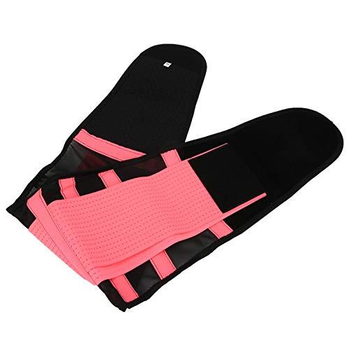 Meiyya Cinturón Trasero, cinturón, Fajas Rosadas/Negras para Hombres y Mujeres entrenando Deportes de Gimnasio(Pink)