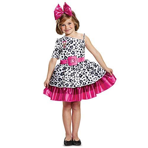 L.O.L. Surprise Diva Classic Child Costume, White, Size/(4-6x)