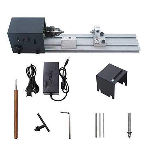 Mini Lathe Perlen Polierer Maschine zur Holz Fertigkeit DIY Rotary-Werkzeug-Set Standard Version EU DIY Werkzeug