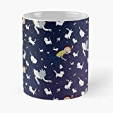 Rick And Morty - Schrodinger's Pattern Classic Mug Funny Gift Coffee Tea Cup White 11 Oz The Best Gift For Holidays. Otisioope