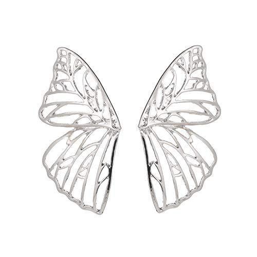 XIANRUI Overdreven Holle Vlinder Vleugel Oor Studs Mode Ventilator Vorm Creatieve Oor Ornamenten