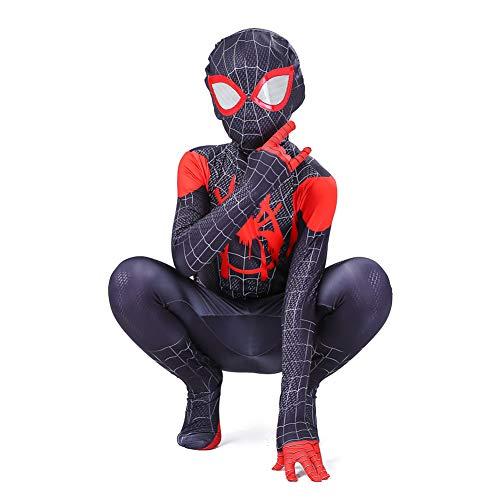 GUOHANG Traje de Spiderman niños Adultos 3D Anime Spiderman Traje Traje Medias Escenario Rendimiento casero Disfraces de Halloween Carnaval Cosplay disfrazaje Fiesta,Style 5,150~160CM